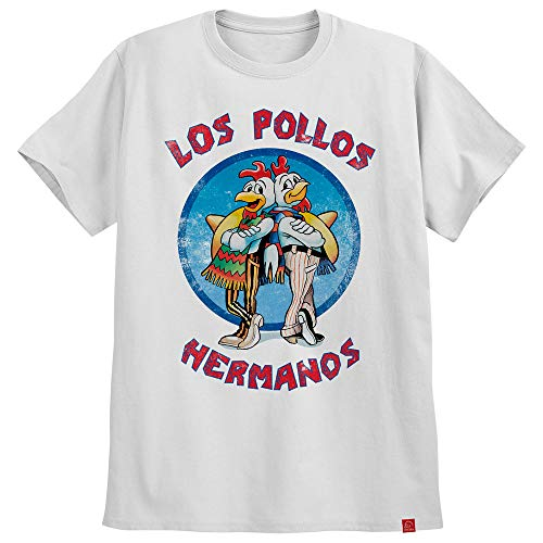 Camiseta Los Pollos Hermanos Breaking Bad Camisa Gus Fring GG