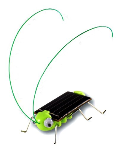- ThinkMax Frightened Grasshopper Kit - Solar Powered