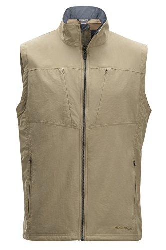 ExOfficio Men's Sol Cool Flyq Vest, Walnut, X-Large