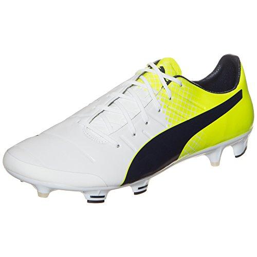 Puma Herren EvoPower 1.3 Tricks FG Fußballschuhe White
