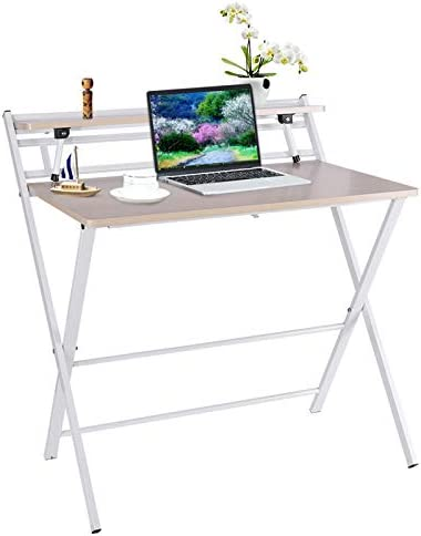 Modern Folding Desk w/Shelf