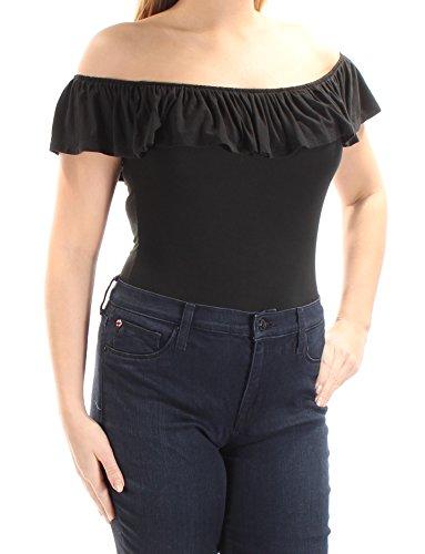 (Denim & Supply Ralph Lauren Women's Ribbed Henley Bodysuit )
