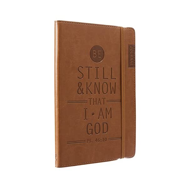 Tan-Be-Still-Know-Flexcover-Journal-Notebook-Psalm-4610