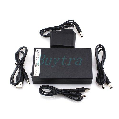DC 12V/6500MA 9V/8500MA 5V/15000MA Rechargeable Li-ion Battery Pack for CCTV Cam