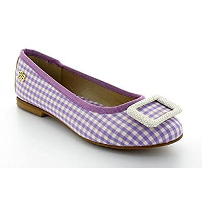 Lila Brigitte Vichy Cazars Chaussures Bardot Ballerine wSnvxHfH
