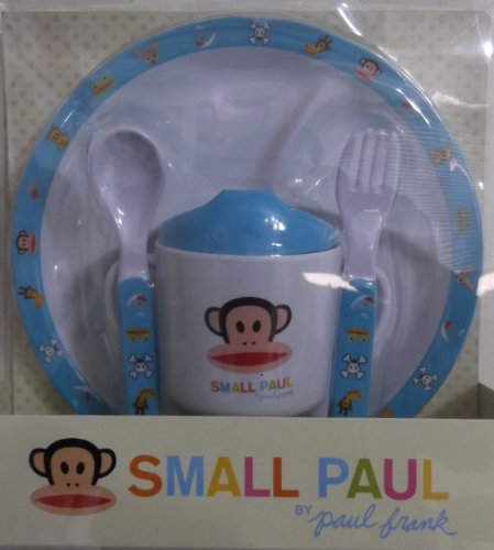 Paul Frank Babies - Small Paul By Paul Frank 4pc Infant Care Gift Set - Blue