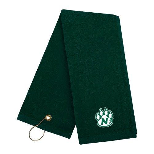 Northwest Missouri State Dark Green Golf Towel 'Official Logo' by CollegeFanGear