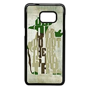 Personalized Durable Cases Samsung Galaxy S6 Edge Plus Cell Phone Case Black Do or do not There is no try Dcags Protection Cover