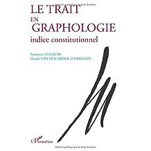 Trait en graphologie le
