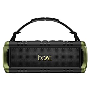 boAt Stone 1400 Mini Portable Wireless Speaker (Army Green)