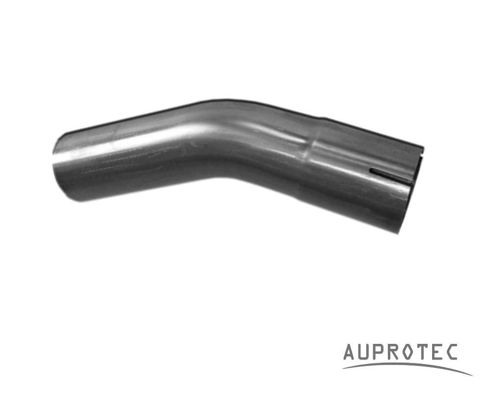 /Ã/˜ 65 mm Au/Ã/Ÿendurchmesser Auspuff Rohrbogen 60/Â/° Grad Lnge 450 mm einseitig aufgeweitet /Ã/˜ 38 42 45 50 55 60 65 mm Auswahl:
