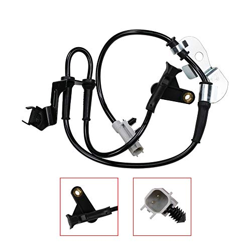 Saber-X 4683470AB Front Right ABS Wheel Speed Sensor for Chrysler 2001-2003 Voyager 2001-2005 Town and Country Dodge 2001-2005 Grand Caravan 2001-2005 Caravan 4683470AB, 4683470AC, 4683470AD