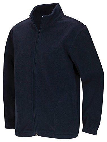 (CLASSROOM Youth Unisex Polar Fleece Jacket, Dark Navy, Medium)