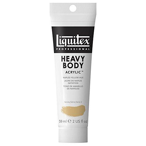Liquitex Professional Heavy Body Tube de Peinture acrylique 59 ml Jaune de Naples Imitation