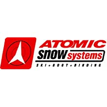 "Atomic Ski Bumper Sticker 6"" x 3"""