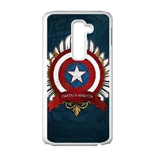 LG G2 Case Cell phone Case Captain America Plastic Ptyv Durable Cover
