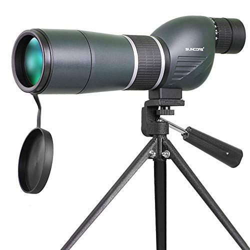 (BGSHYF High-Definition high-Light Low-Light Night Vision HD Positioning Telescope Tripod monocular Waterproof Telescope 15-45X60 Zoom monocular for Observation Target Shooting with a Portable Tripod)