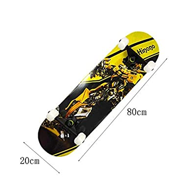 Snow Eagle Skateboard Complete Cruiser 31 inches, Extreme Sports and Outdoor (Bumblebee Version) : Sports & Outdoors