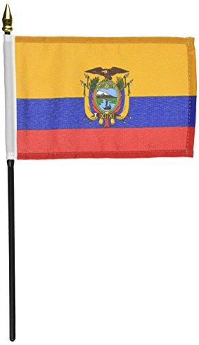 US Flag Store Ecuador Flag 4 x 6 inch