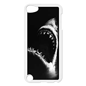 J-LV-F Customized Print Deep Sea Shark Pattern Hard Case for iPod Touch 5