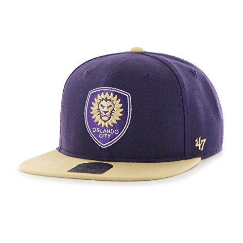 MLS Orlando City Soccer Club No Shot Two-Tone Captain Hat, One Size, Purple (T-shirt Shot Soccer)