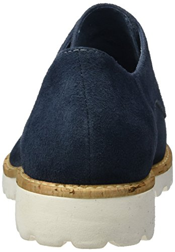 Scarpe Blu Tamaris Basse Donna 802 Stringate Oxford Denim 23208 5qYxaYR