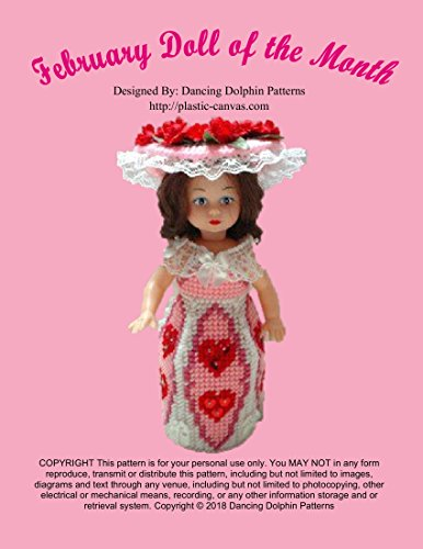 - February Doll of the Month: Plastic Canvas Pattern