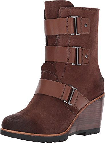 Sorel Women's After Hours Bootie Tobacco 8 B - Wedges Charlotte Leather