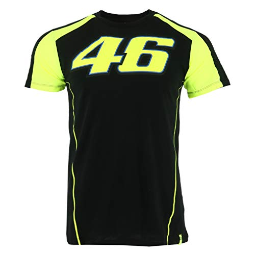 Valentino Rossi VR46 Moto GP Race Logo Black T-Shirt for sale  Delivered anywhere in USA