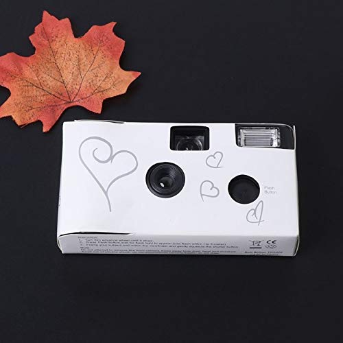 SIV Film Cameras 36 Pos Power Flash HD Single Use One Time Disposable Film Camera Party Gift