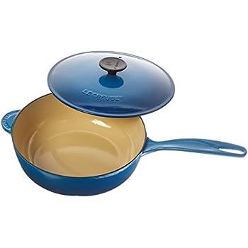 Le Creuset Enameled Cast-Iron 3-Quart Saucier Pan, Marseille