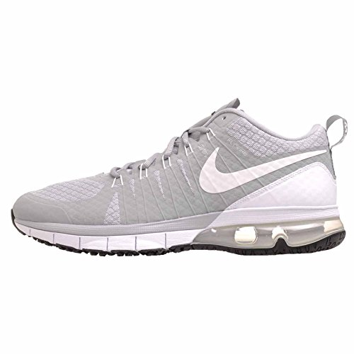 Nike Mens Air Max TR180 Cross Trainer (11, Wolf Grey/White-Black)