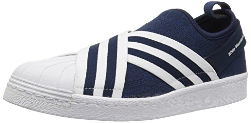 Adidas Originali Mens Wm Superstar Slip On Pk Conavy, Ftwwht, Ftwwht