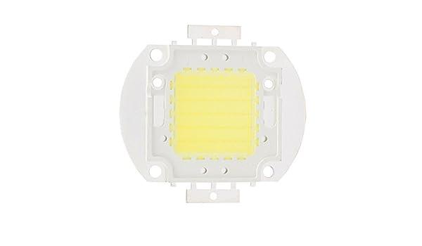 Granos ligeros eDealMax DC 30-35V 50W LED de alta potencia SMD chip refresca blanco de la lámpara del reflector - - Amazon.com