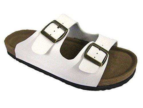 Coolers - Sandalias para mujer blanco