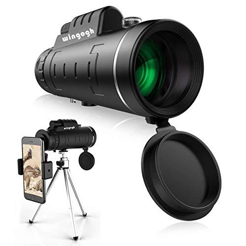 Big Save! Monocular Telescope, 40x60 High Power HD Compact Monocular for Adults Kids, Waterproof Low...