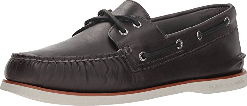 Sperry Top-Sider Gold Cup Authentic Original Orleans Boat Shoe Men 8.5 Charcoal