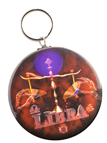 Gothic Libra   9 23 To 10 23 Air Sign Key Chain