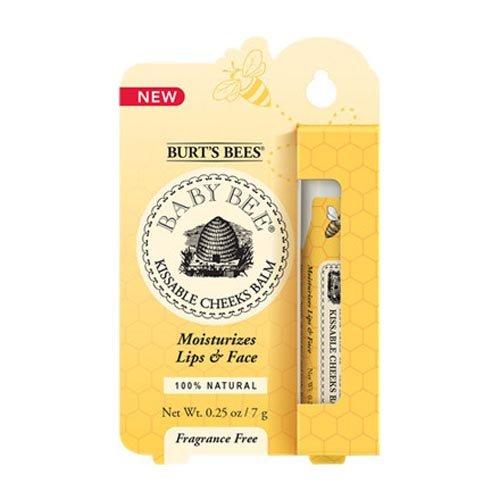 Les abeilles de Burt Baby Bee Kissable Joues Baume, 0,25 once