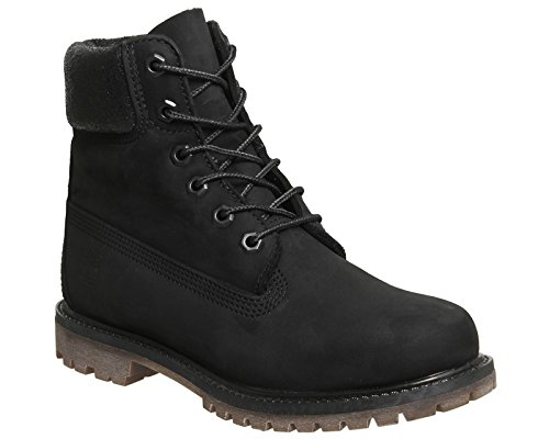 Timberland 001 A1k38 W 6 in Multicolore Baskets 38 Premium Black EU Noir Femme Boot 4rq4STw
