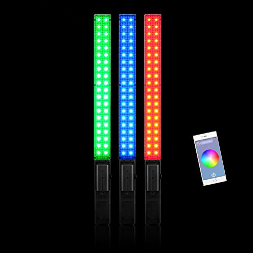 YONGNUO YN360 Handheld LED Video Light 3200k 5500k RGB Colorful 39.5CM ICE Stick Professional Photo LED YN360 Wand