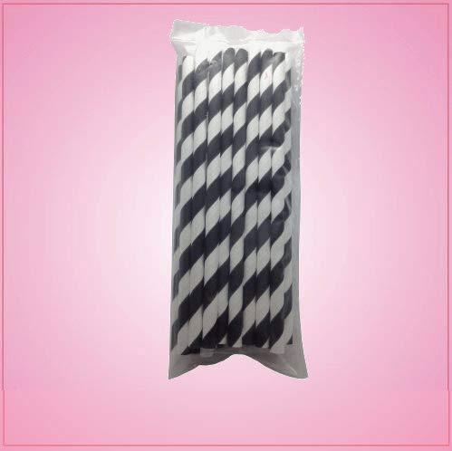 cheapcookiecutters Black Cake Pop Sticks-One Piece -