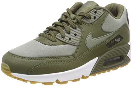 Max Verde Donna Dark Sequo Olive 90 205 Nike da Scarpe Stucco Ginnastica Medium Air wWTT5Sq1