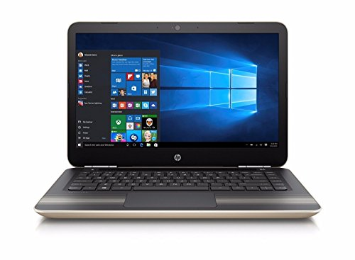 2017 HP Pavilion 14 inch Premium Flagship Laptop PC, Intel Core i3-6100U Dual Core 2.3GHz, 8GB DDR3L, 1TB HDD, USB 3.0,802.11ac WiFi, Bluetooth, Windows 10 Home, Gold (Certified Refurbished)
