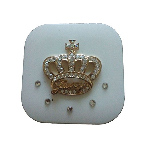 [[WHITE Crown] Special DIY Contact Lenses Box Case/Holders Storage Container] (Prescription Colored Contact Lenses)