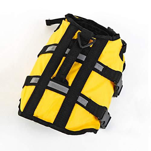 PETCUTE Dog Life Jacket/Dog Life Vest with Top Handle and Reflective Straps/Lifesaver Jacket for Dog