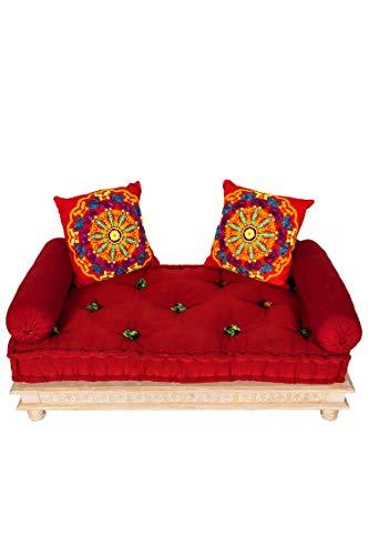 Sofá oriental Fadilla de 120 cm, 2 plazas, juego de sofá ...