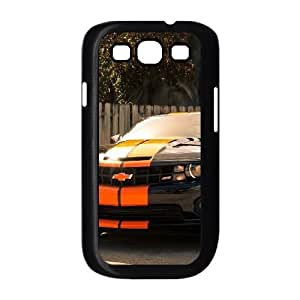 Samsung Galaxy S3 9300 Cell Phone Case Black Chevrolet Clear Phone Case Personalized XPDSUNTR01556