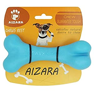 Aizara Dog Chew Toys for Aggressive Chewers Durable Nylon Bone