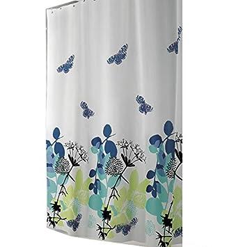 Edler Textil Duschvorhang 220 X 200 Cm Einteilig Elegante Natur